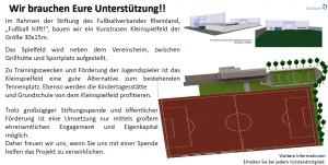 Kunstrasen-Kleinspielfeld